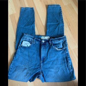 Garage Retso High waist Distressed Jeans size 9